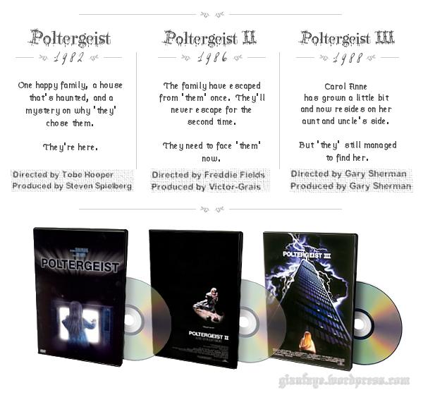 Poltergeist I, II, and III
